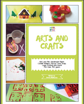 arts and crafts activity pack with arts and craft projects 4 10