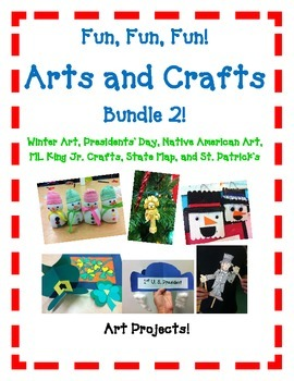 Arts and Crafts Bundle 2 with 21 FUN Kid Friendly Crafts