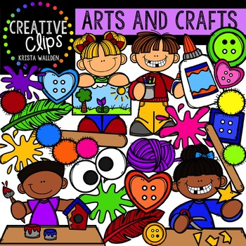 Arts and Crafts {Creative Clips Digital Clipart}