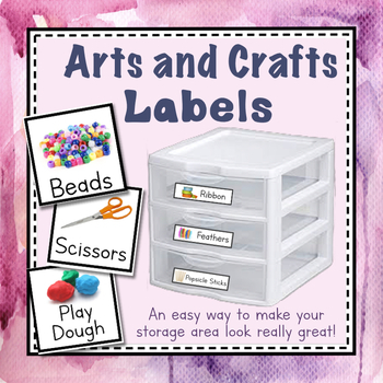 Arts and Crafts Labels
