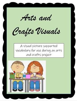 Arts and Crafts Vocabulary Visuals