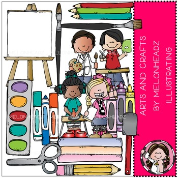 Arts and Crafts clip art - COMBO PACK- by Melonheadz