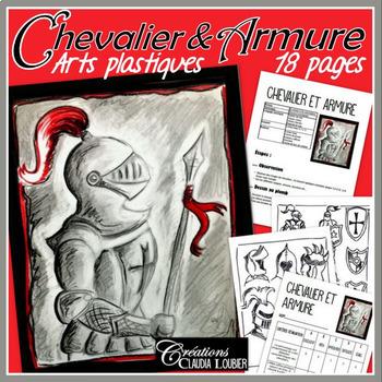 Chevalier et armure, projet d'arts plastiques
