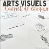 Arts visuels - Carnet de croquis