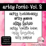 Artsy Fonts: Volume Eight