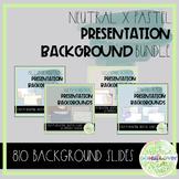 Pastel X Neutral Presentation Background Slides