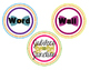 Jubilee's Junction - Bow Tie Word Wall Badges for Bulletin Boards BOW TIES