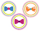 Jubilee's Junction - Bow Tie Word Wall Badges for Bulletin