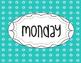 Jubilee's Junction - File Folder Cover Organizational Labels Days of the Week