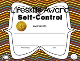 Jubilee's Junction - Lifeskills Character Trait Awards Cer