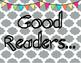 Jubilee's Junction - What Good Readers Do Poster Set