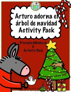 Arturo adorna el árbol de navidad Christmas Activity Pack