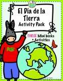 Arturo y el Día de la Tierra Earth Day Mini books & Theme Pack in SPANISH