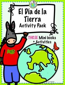 Arturo y el Día de la Tierra Earth Day Mini books & Theme Pack in SPANISH