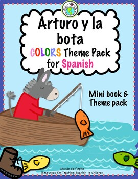 Arturo y la bota Colors Printable Spanish Minibook and Activity Pack