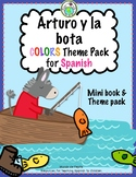 Arturo y la bota Colors Printable Spanish Minibook and Act