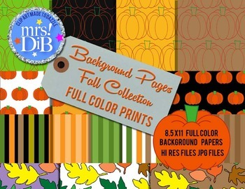 Artwork - FALL COLLECTION/Patterned Papers