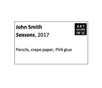 Artwork label