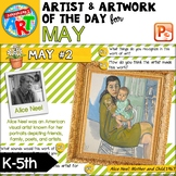 Artwork of The Day for K-5 - MAY