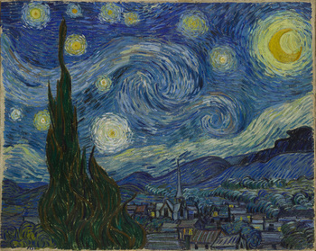 Artwork of the Week 1:The Starry Night by Vincent Van Gogh