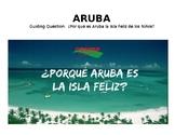 """Aruba """"Isla Feliz de los niños"""" Cloze Reading Book Activity Word Doc"""