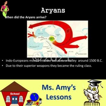 Ancient India: Aryans & Social Customs PowerPoint Presentation