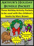 Halloween Activities: Arthur's Holiday Bundle