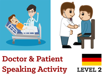 Arzt & Patient Speaking Activity