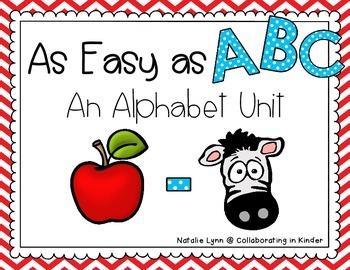 Alphabet Unit