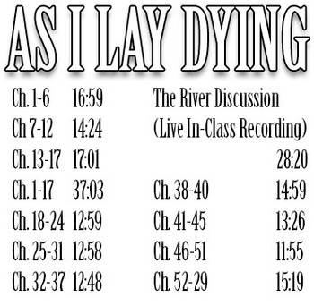 As I Lay Dying: Original Study Guide Podcast Library (3.5 Hours!)