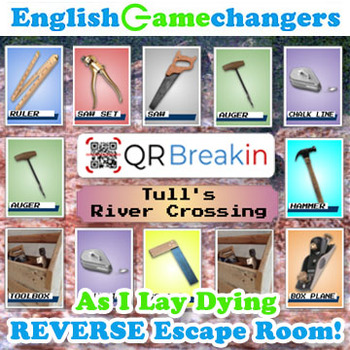 As I Lay Dying REVERSE Escape Room! Break IN to The River and Save Cash's Tools!