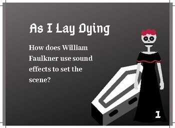 As I Lay Dying Task Cards