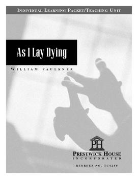 As I Lay Dying Teaching Unit