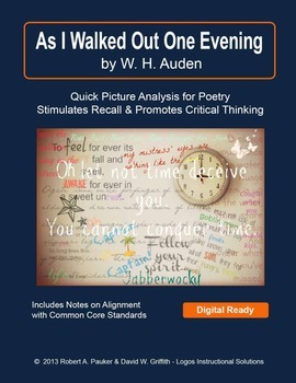 """As I Walked Out One Evening"" by W. H. Auden: Quick Picture Analysis"