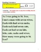 VI Visual Impairment / Blindness w/ Braille - Poetry - As I Was Going To St Ives
