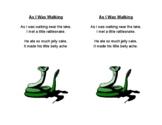 As I Was Walking Poem