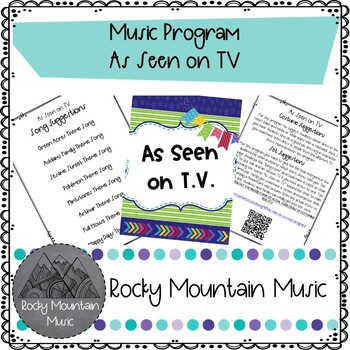 As Seen on TV Music Program