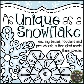 As Unique As A Snowflake: Bible Lesson