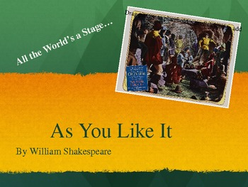 As You Like It Background PowerPoint