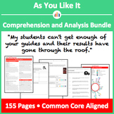 As You Like It – Comprehension and Analysis Bundle