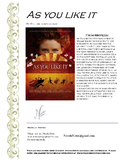 as you like it essay by william shakespeare by nevels notes tpt product thumbnail as you like it character test
