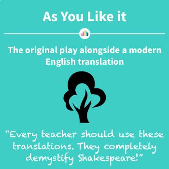 As You Like It: the Original Play Alongside a Modern English Translation
