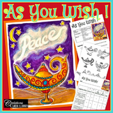 As You Wish - New Year - Art Lesson Plan - Magic Lamp