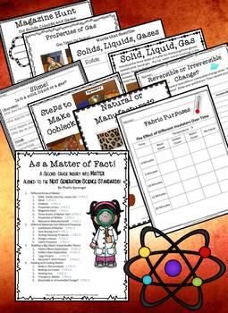 As a Matter of Fact!  A Second Grade Inquiry into Matter