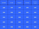 Así se dice Book 1, Etapa Preliminar Jeopardy Review Game (Powerpoint)