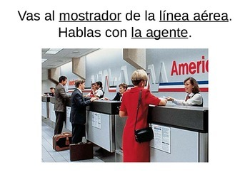 Así se dice Level I, chap. 10 Spanish Vocab Powerpoint (Air Travel)
