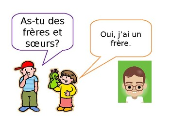 As-tu des frères et sœurs? Do you have brothers and sisters?