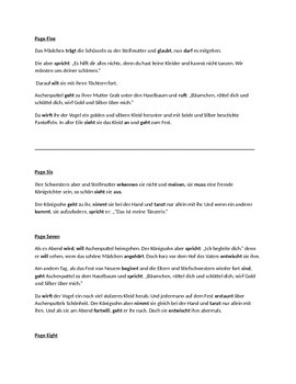 Aschenputtel Projekt