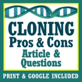 Asexual Reproduction Activity Cloning Genetics