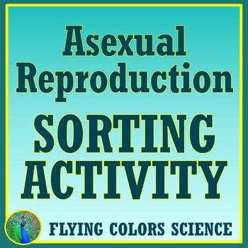 Asexual Reproduction Card Sort and Graphic Organizer Activity NGSS MS-LS3-2